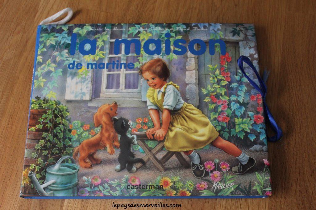 La maison de martine - Livre dépliant - Casterman (1)