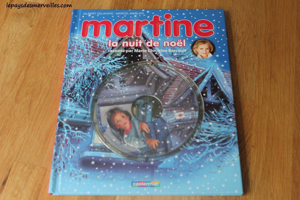 Martine la nuit de Noel - Livre CD