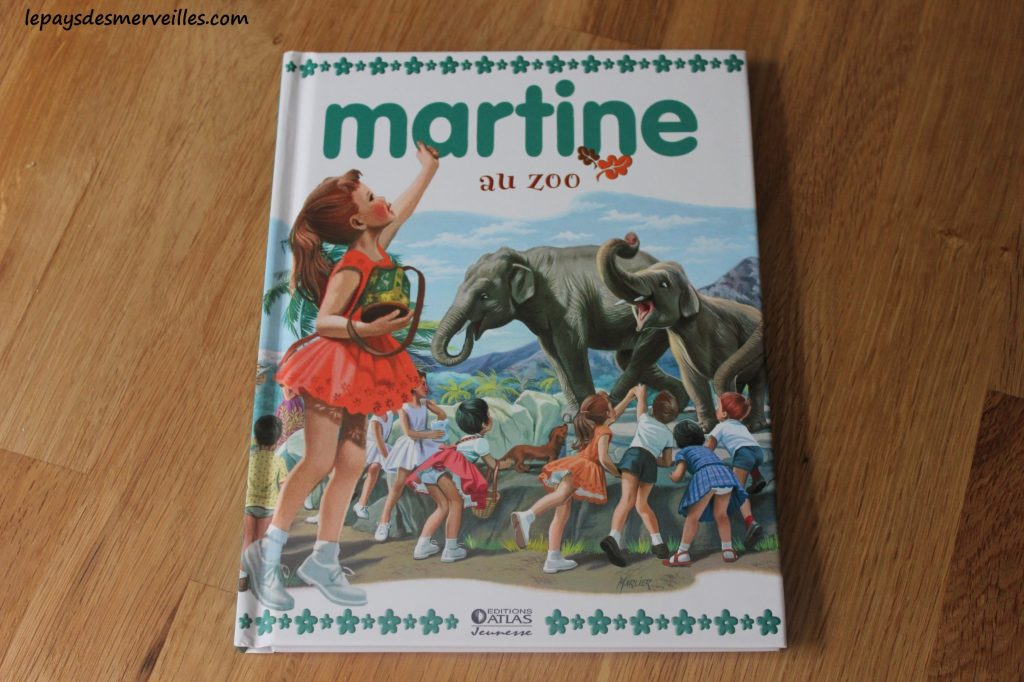 Roman Martine - Martine au zoo - Editions Atlas (1)