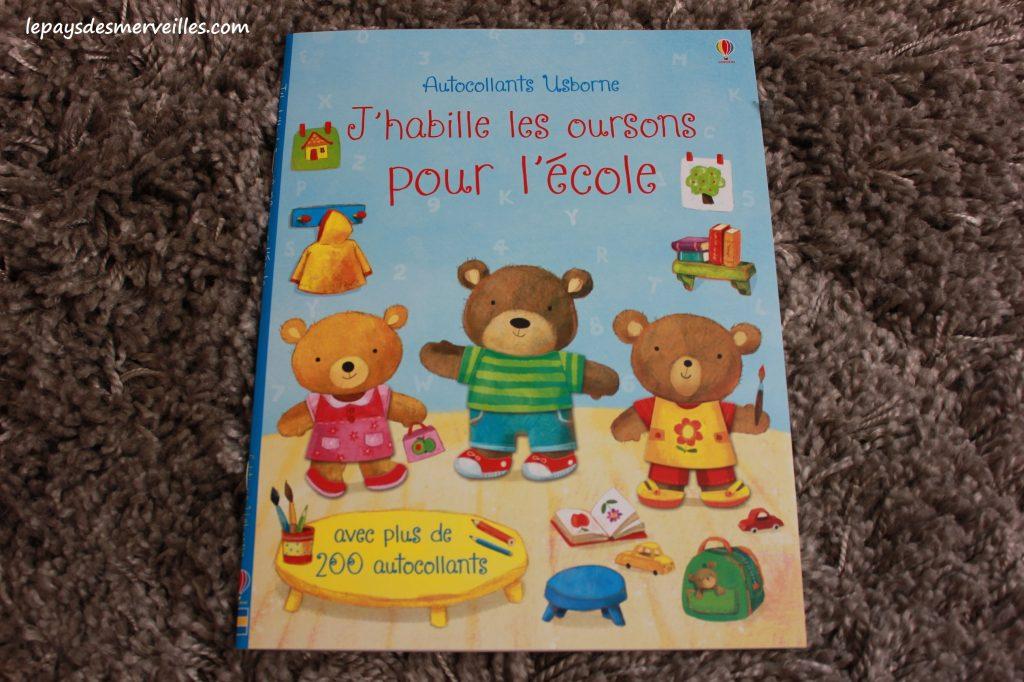 J'habille les oursons pour l'école - Editions Usborne (1)