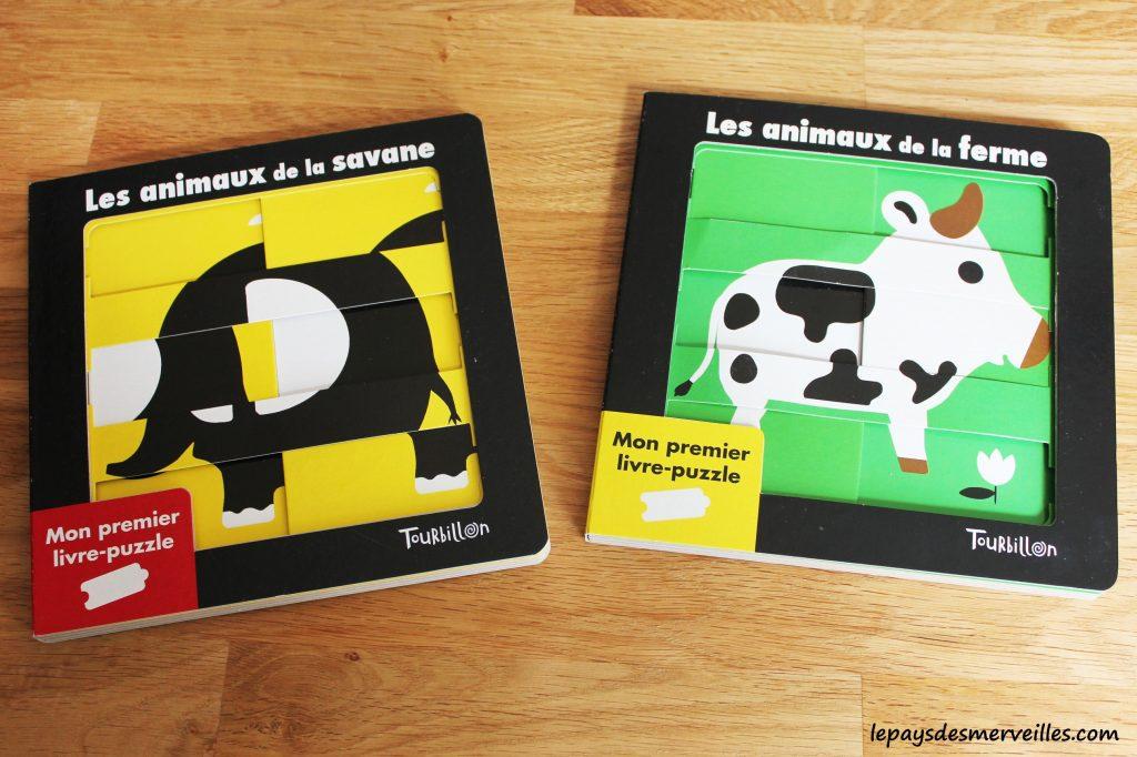 Mon premier livre-puzzle  les animaux de la savane & les animaux de la ferme (1)