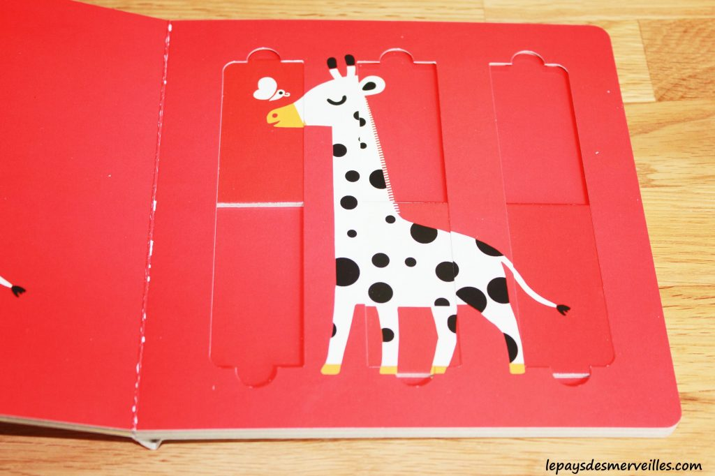 Mon premier livre-puzzle  les animaux de la savane & les animaux de la ferme (3)