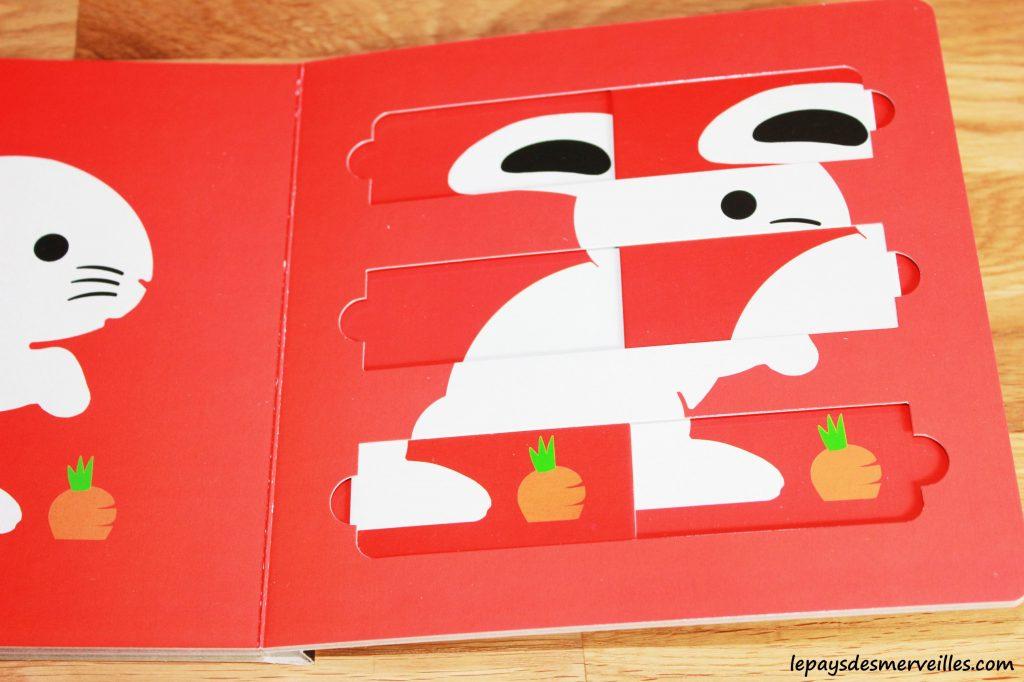 Mon premier livre-puzzle  les animaux de la savane & les animaux de la ferme (4)