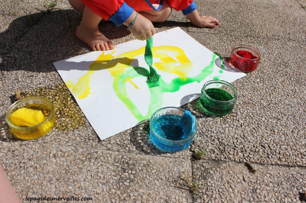 Peinture aquarelle fait maison (2)