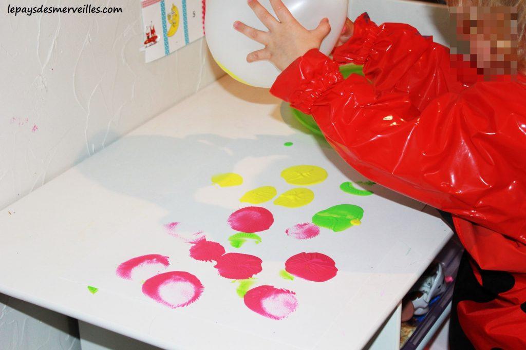 peindre avec un ballon (2)