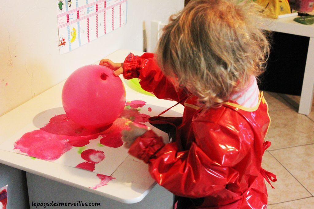 peindre avec un ballon (4)