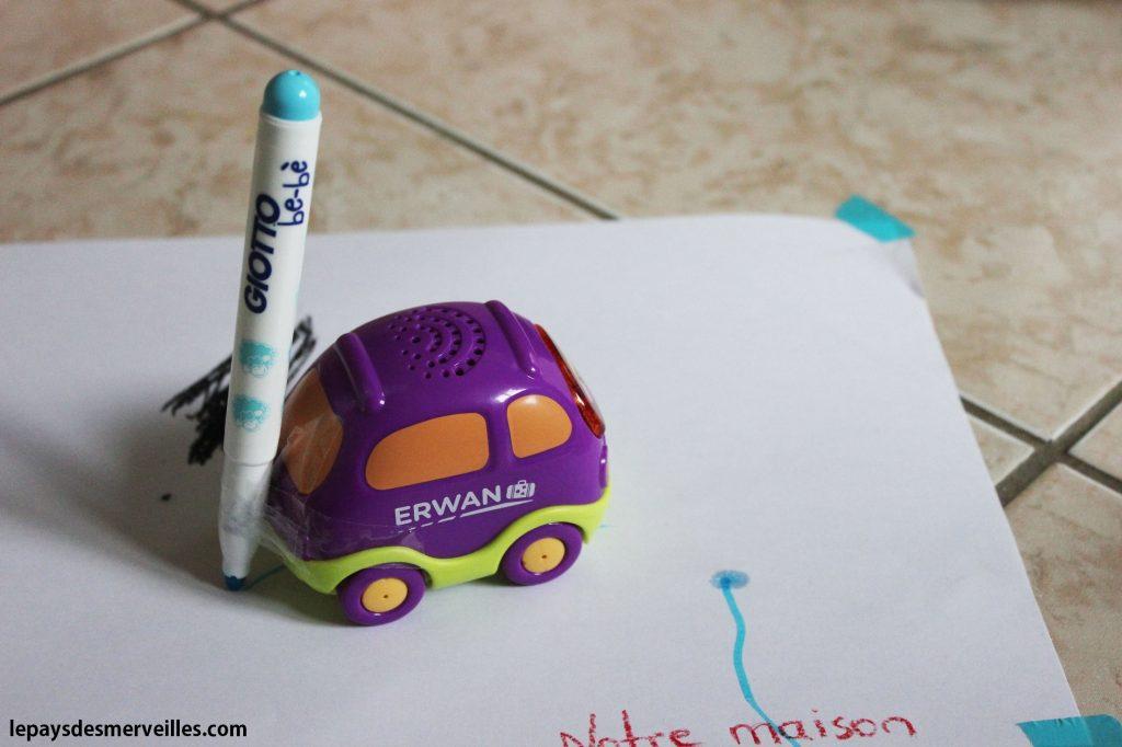 Dessiner avec des voitures (10)