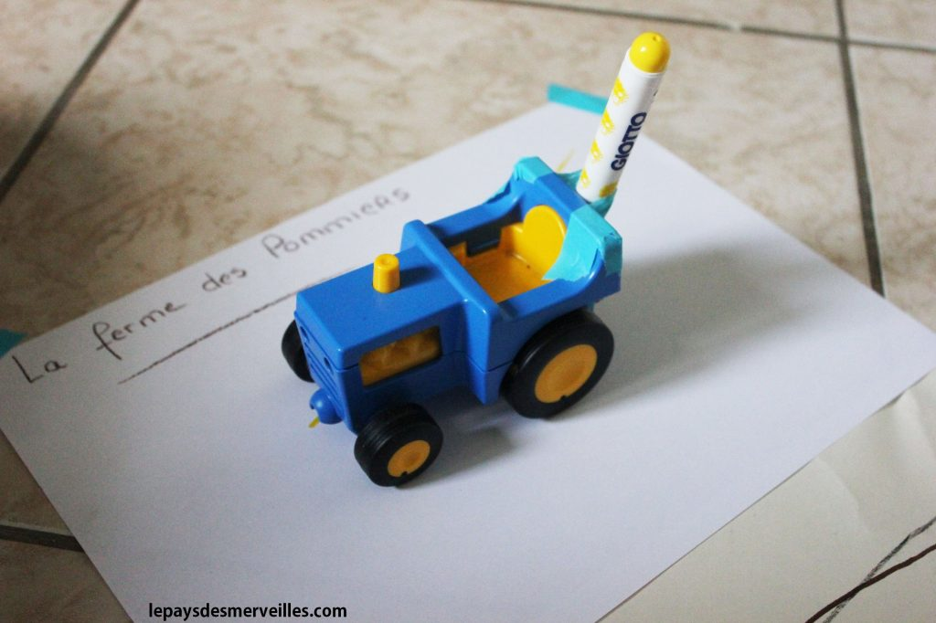 Dessiner avec des voitures (11)