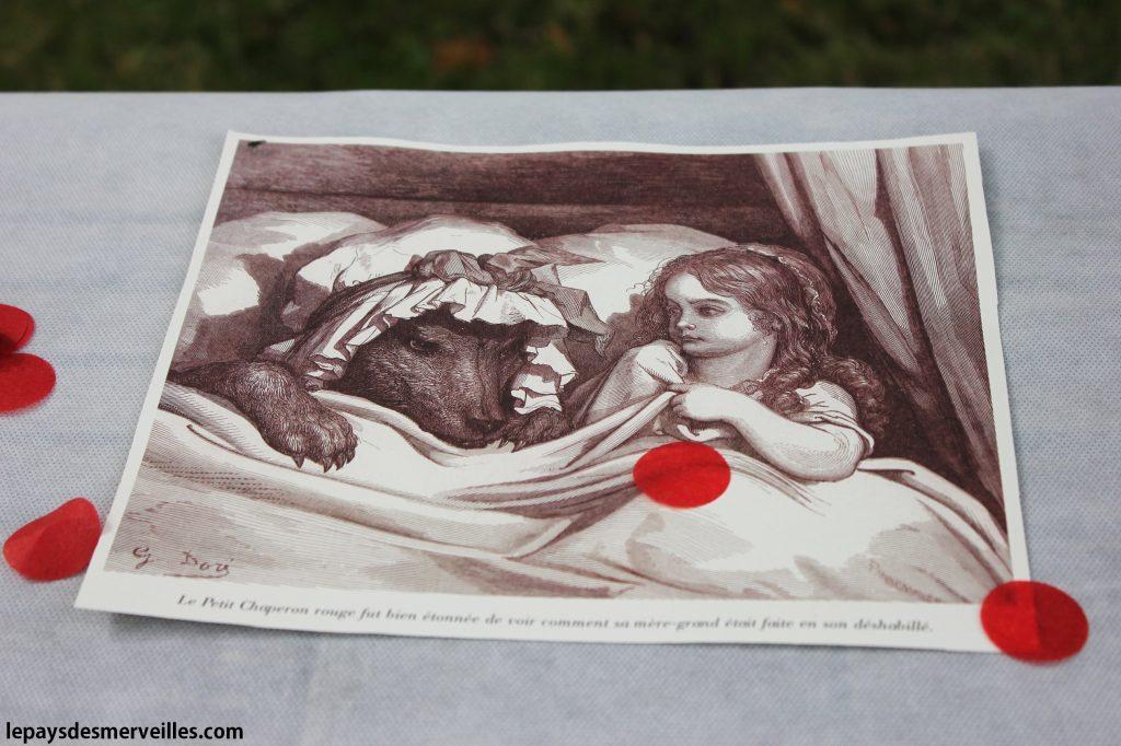 Anniversaire thème le petit chaperon rouge (9)