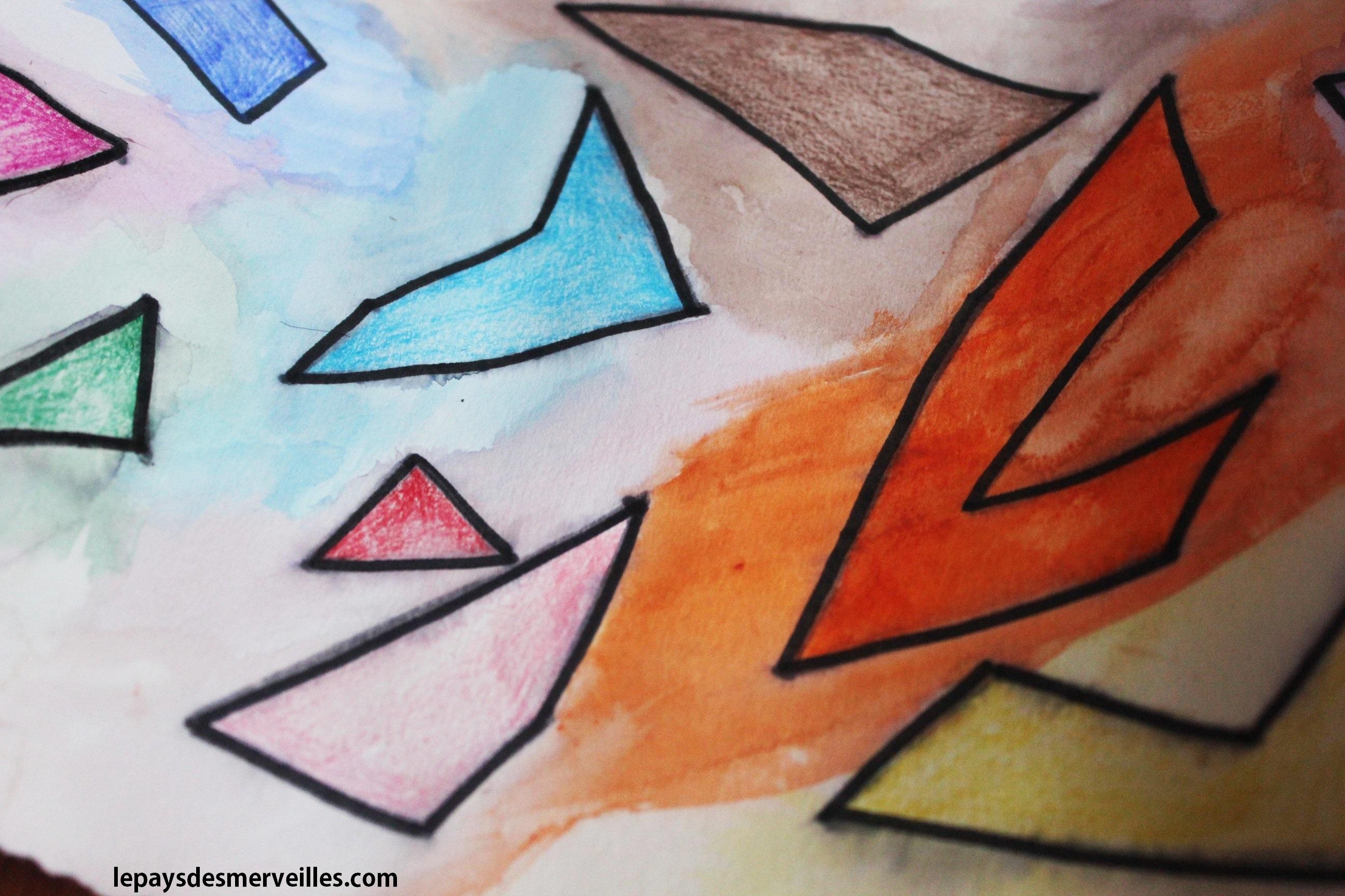Dessiner Avec Des Points Test Crayons De Couleur Aquarellable