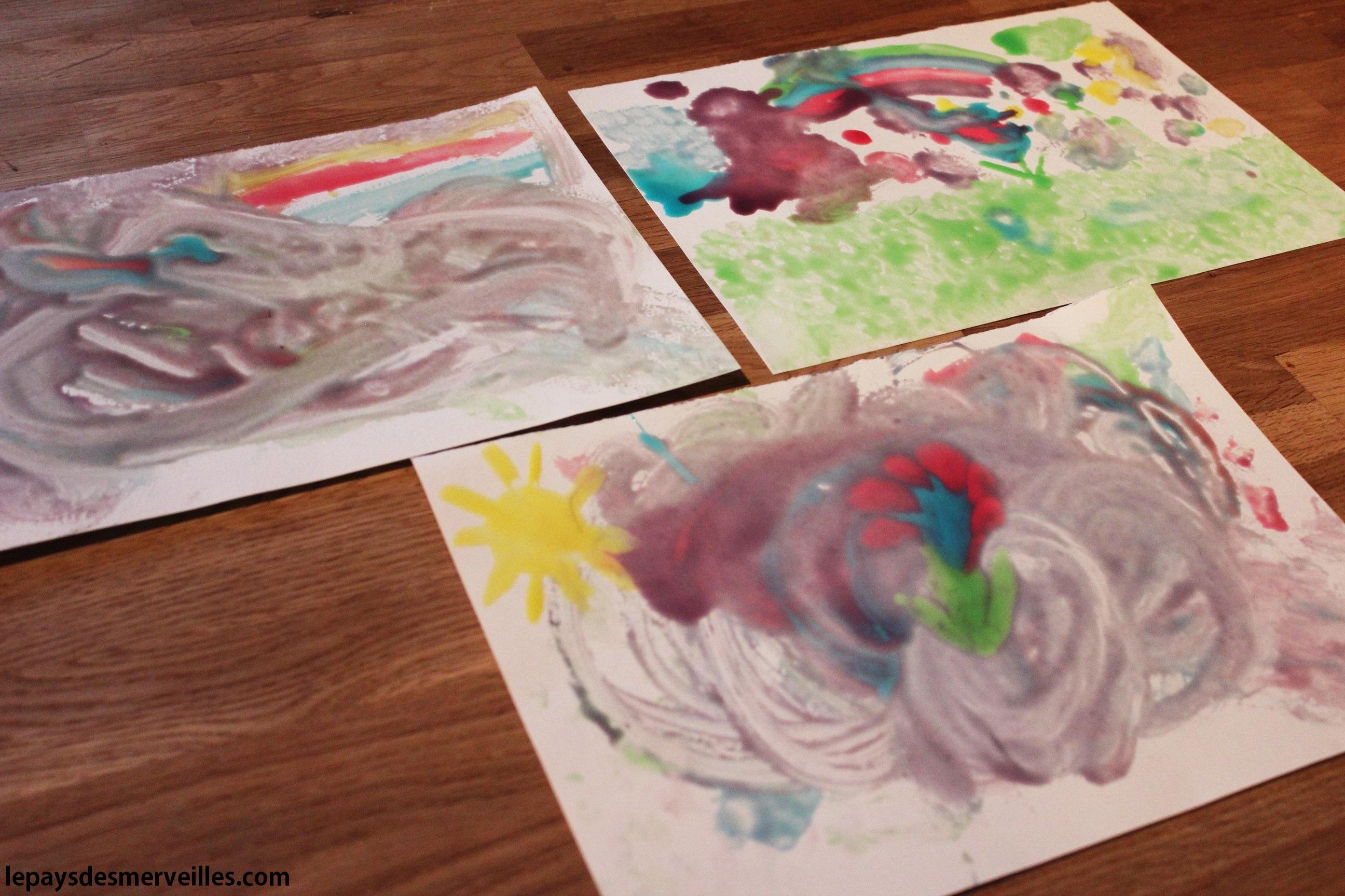 Peinture comestible sucr e pour un r sultat laqu le pays des merveilles - Peinture facile a reproduire ...