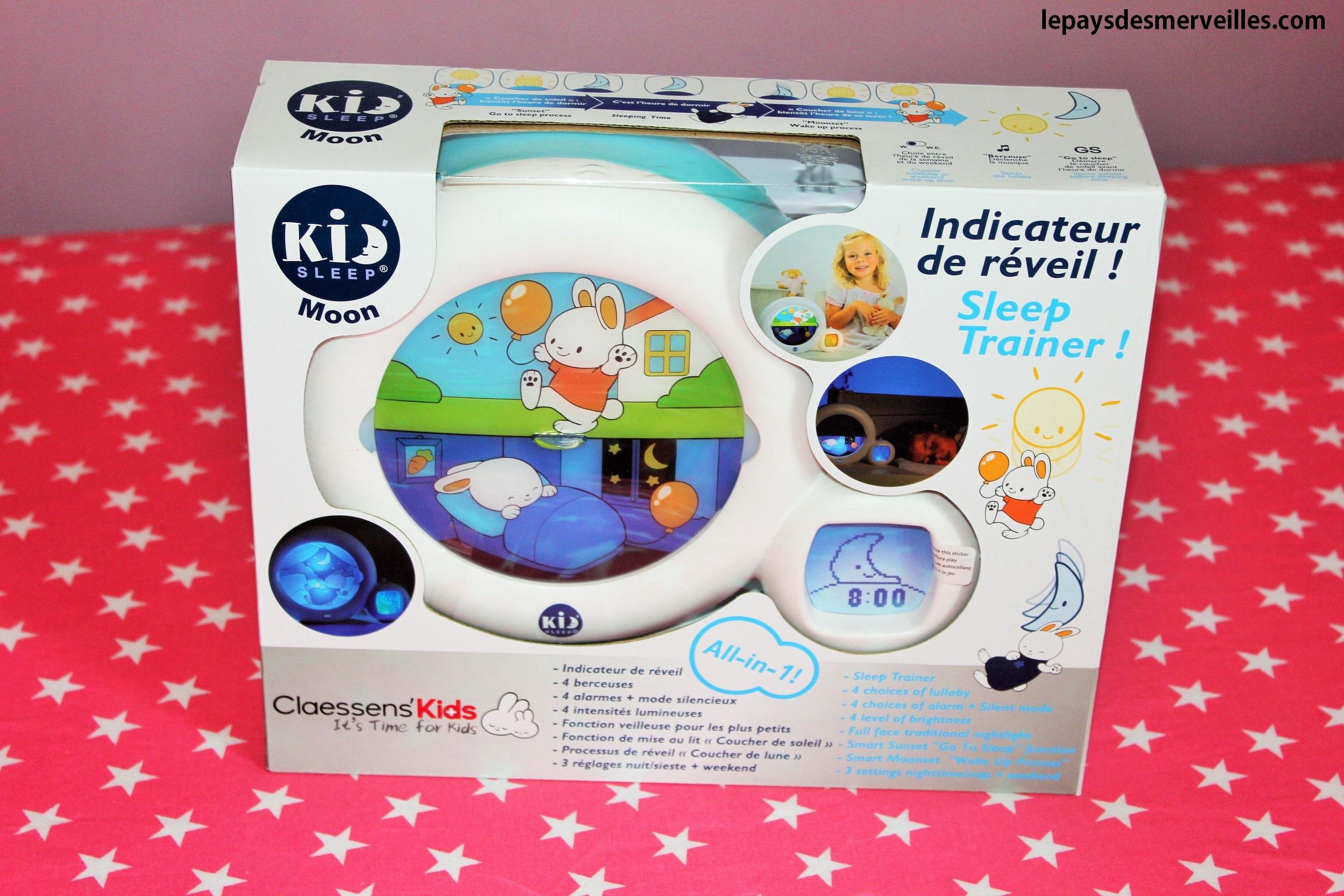 kid 39 sleep moon le r veil qui lui indique quand se lever. Black Bedroom Furniture Sets. Home Design Ideas