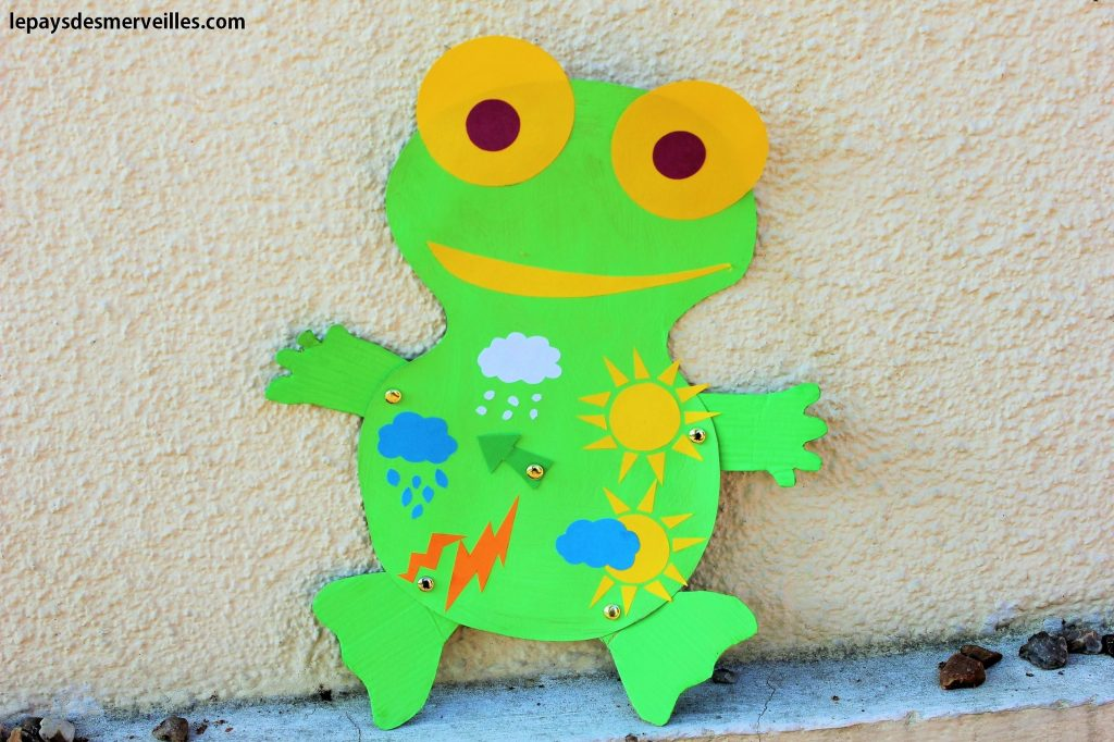 activité grenouille météo