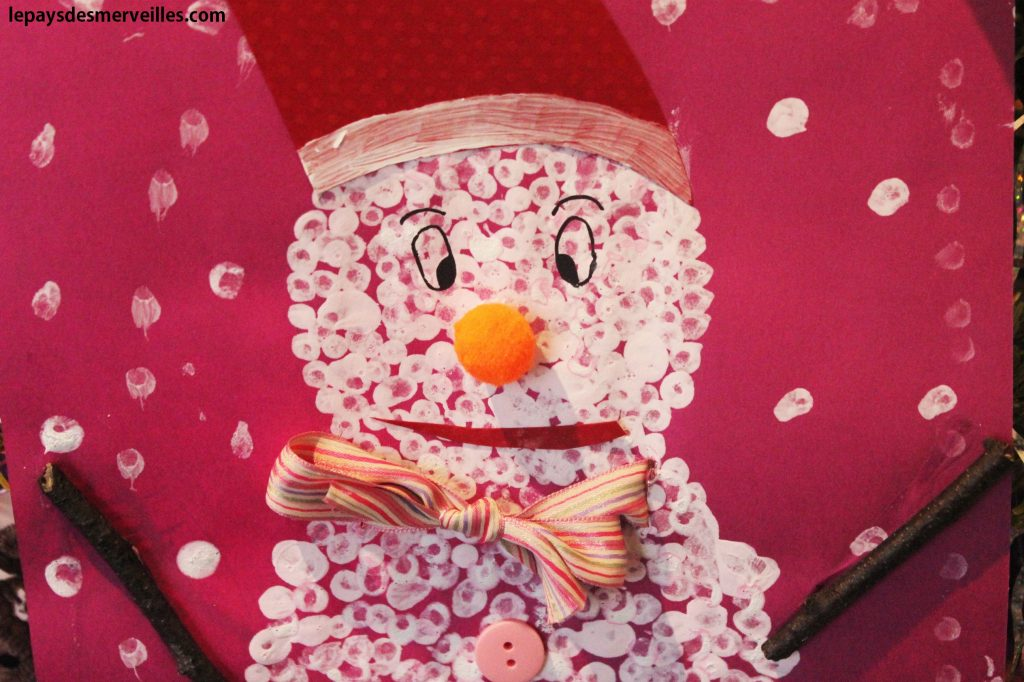 bonhomme de neige coton tige (7)
