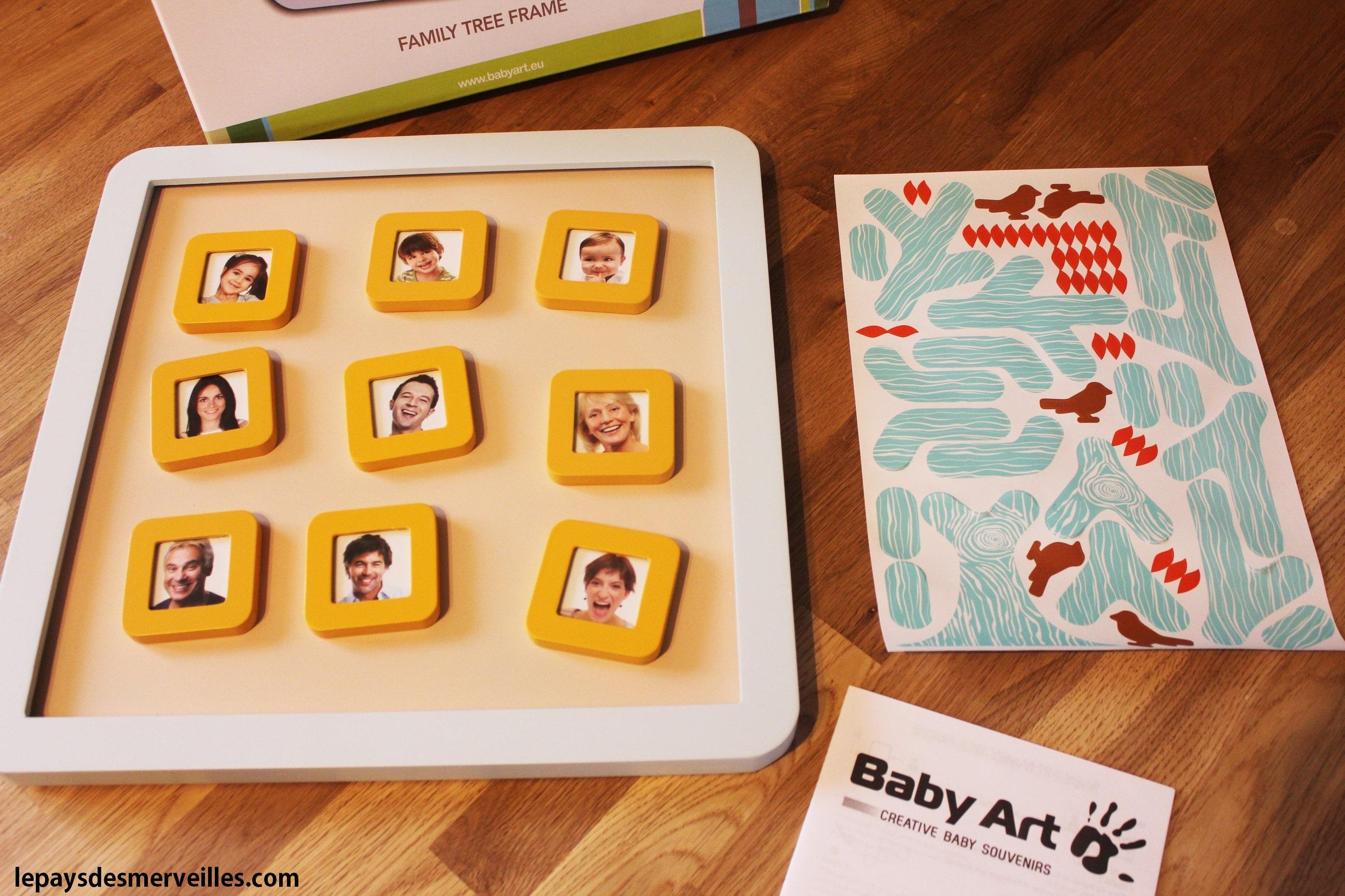 Baby Art Arbre Généalogique Magnétique