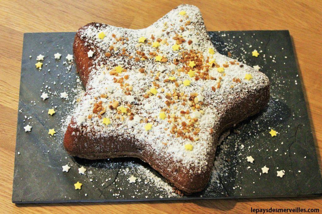 gâteau étoile au chocolat