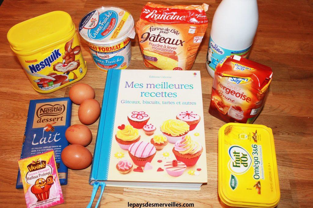 gateau au chocolat smarties (1)