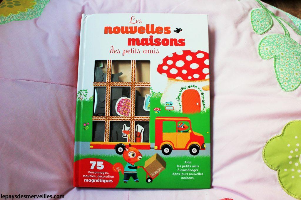livre magnétique - Les nouvelles maisons des petits amis (1)