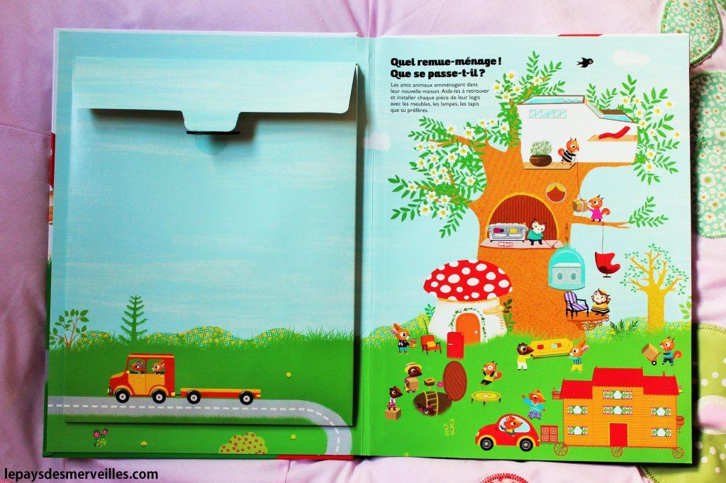 livre magnétique - Les nouvelles maisons des petits amis (2)