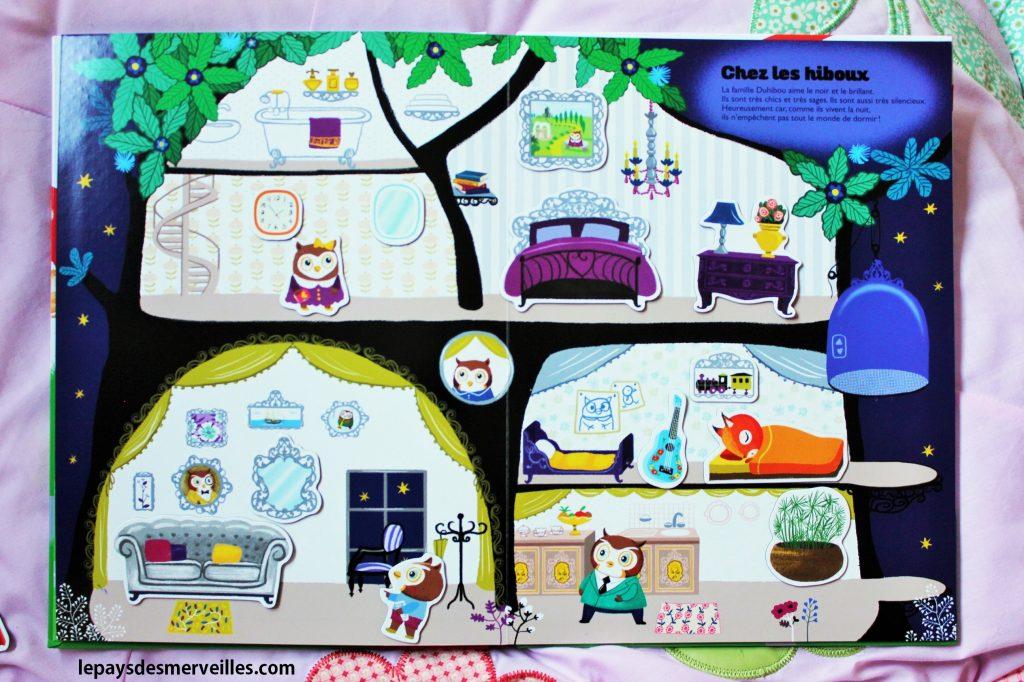 livre magnétique - Les nouvelles maisons des petits amis (4)
