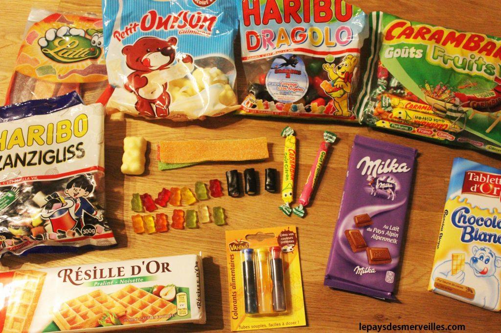 gourmandises bonbons