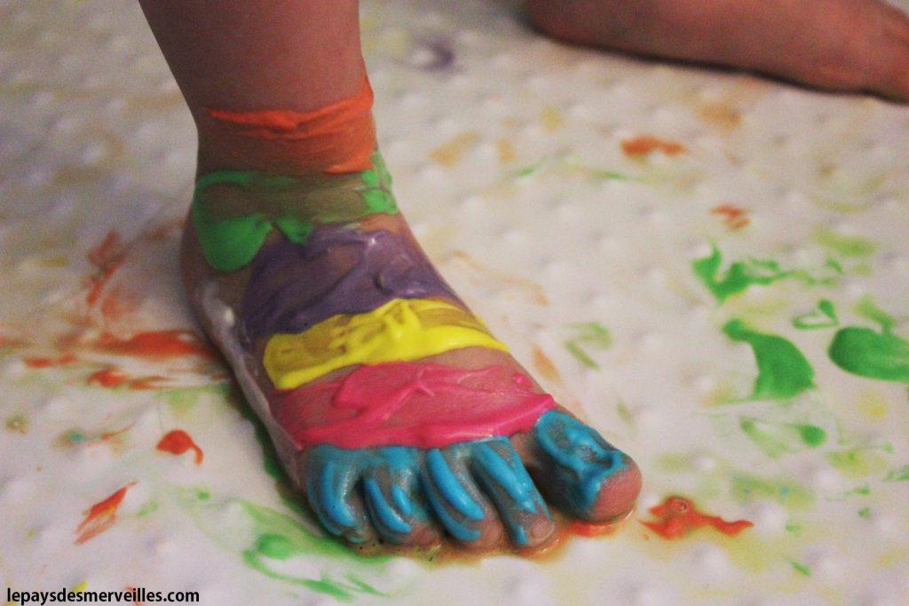 Peinture pour le bain ou la douche recette maison for Bain pour les pieds maison