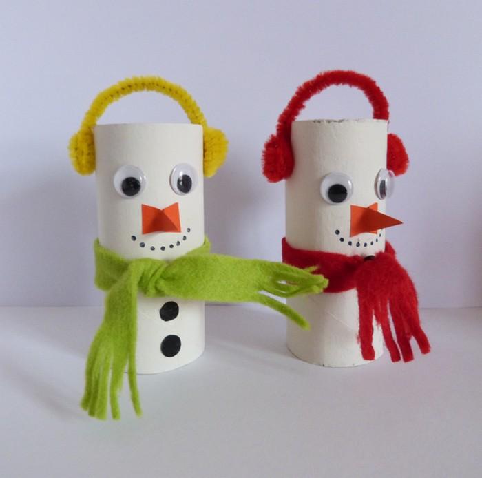 Un bonhomme de neige en porcelaine froide recette l art - Activite manuelle a faire a la maison ...