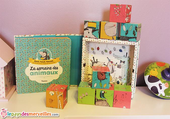 la semaine des animaux - editions tourbillon - cubes (6)