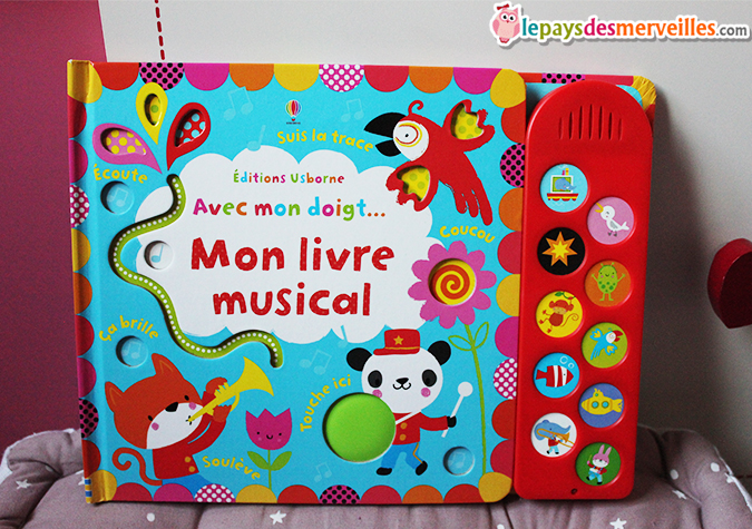avec mon doigt mon livre musical ditions usborne chut les enfants lisent 51 le. Black Bedroom Furniture Sets. Home Design Ideas