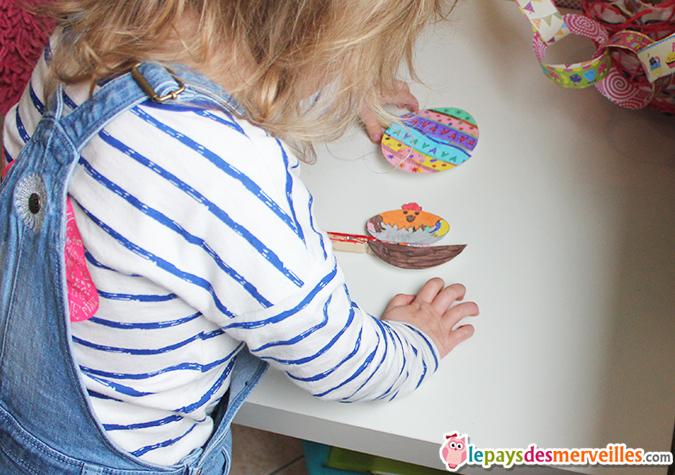 bricolage enfant paques