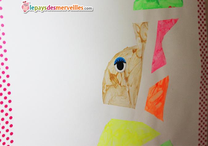 peinture paques enfant