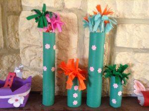 bricolage fleurs printemps