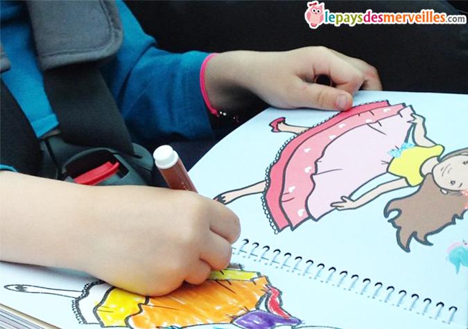 Comment occuper les enfants en voiture