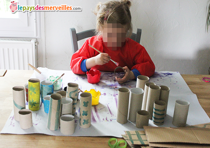 activité manuelle peinture