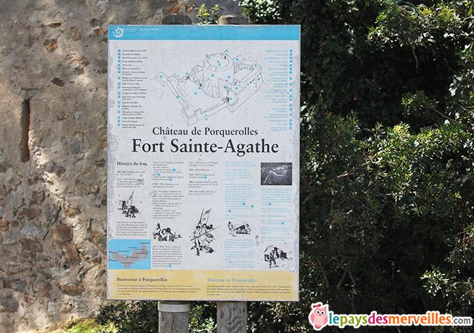 chateau de Porquerolles
