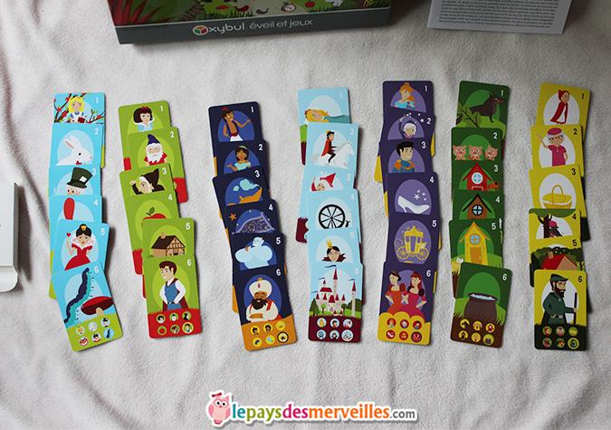jeu de 7 familles les contes
