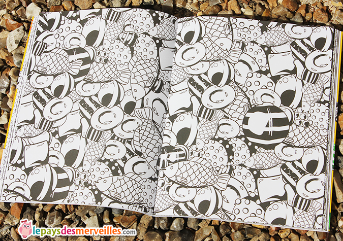 cahier coloriage candy crush