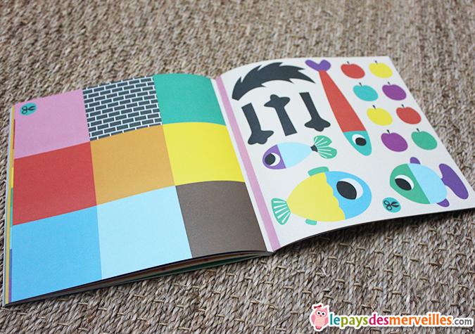 livre d'activités découpage collage