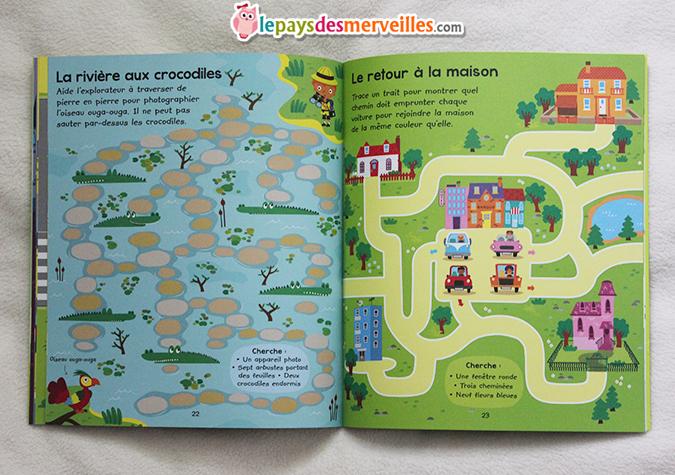 livre d'activités enfants