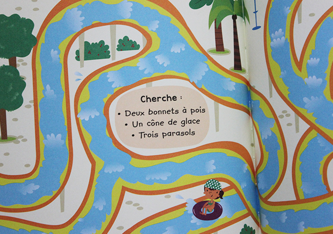livre labyrinthe enfants