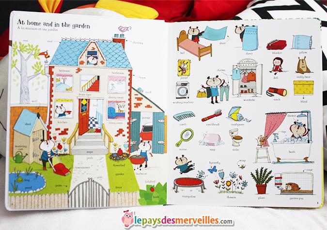 Mon grand livre de mots illustr s en anglais ditions - Livre de cuisine pour enfant ...