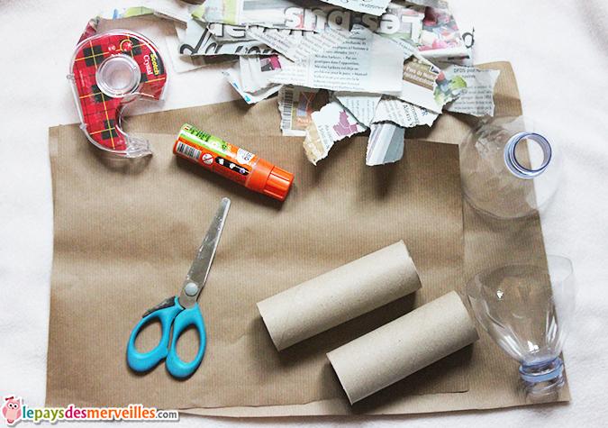 matériel djembé papier maché
