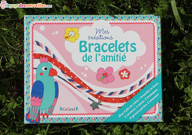 Mes créations bracelets de l'amitié