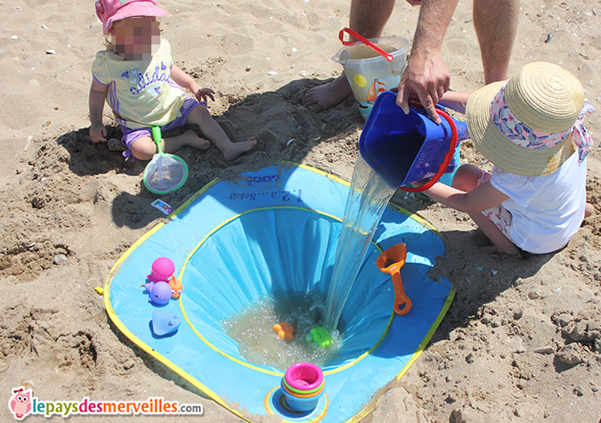 avis piscine de plage Ludi