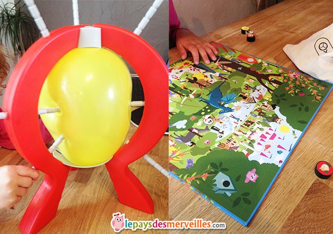 jeu boom boom balloon & jeu mon coffret des contes
