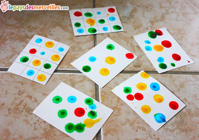 Berühmt Un jeu simple et coloré pour jouer avec les chiffres et les  KV99