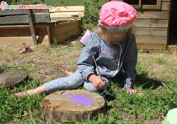 peinture sur bois activité enfant (4)
