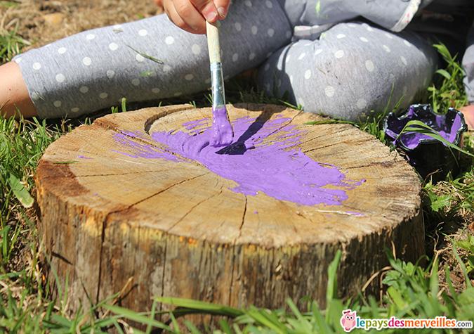 peinture sur bois activité enfant (5)
