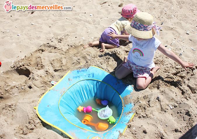 piscine de plage bébé