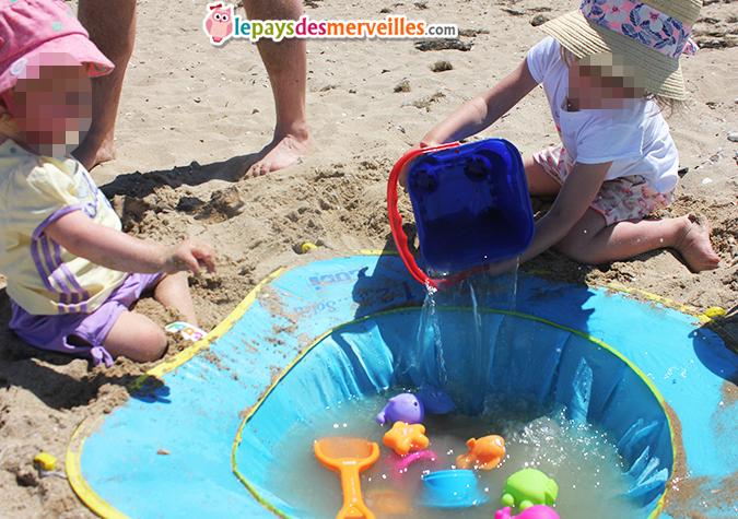 piscine de plage enfant